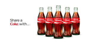 share a coke reclame